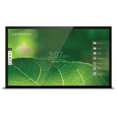 "Ecran interactif tactile Android CleverTouch Pro 4K - 65"" CAPACITIF"