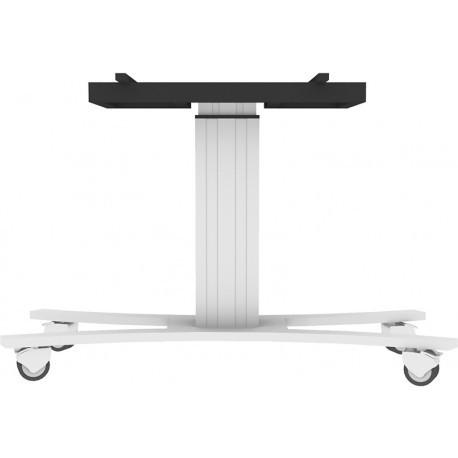 Support mobile Conen pour écran interactif, ajustable en hauteur et inclinable