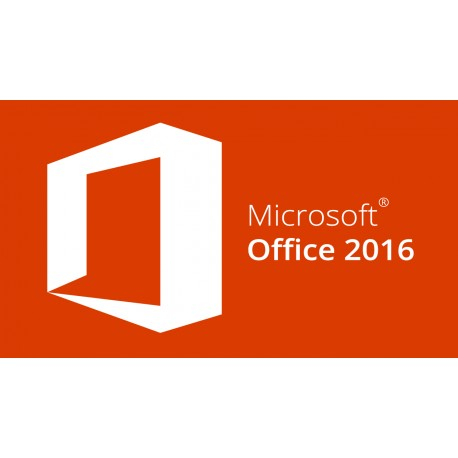 Microsoft Office 2016 (Word, Excel, Power Point)