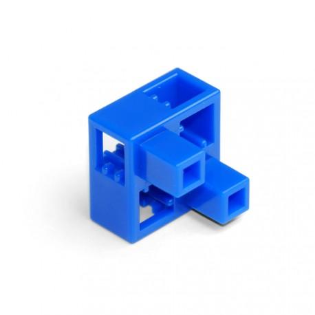 Demi-cube B bleu (vendu à l'unité)