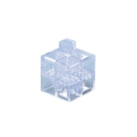 Cube transparent (vendu à l'unité)