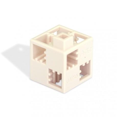 Cube blanc (vendu à l'unité)