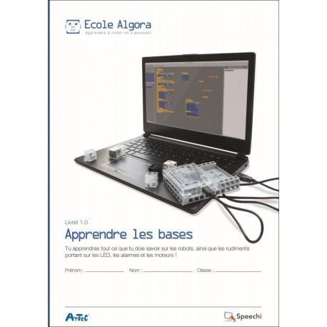 "Livret Algora 1.0 ""Apprendre les bases"" - 1 élève"