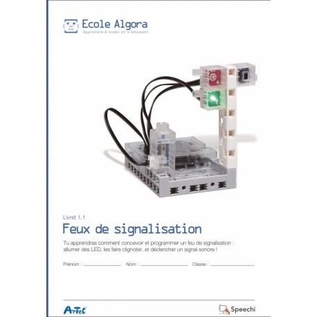 """Livret Algora 1.1 """"Feux de signalisation"""" - 1 élève"""