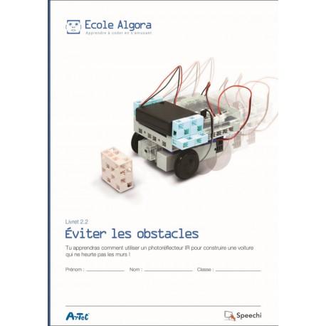 """Livret Algora 2.2 """"Éviter les obstacles"""" - 1 élève"""