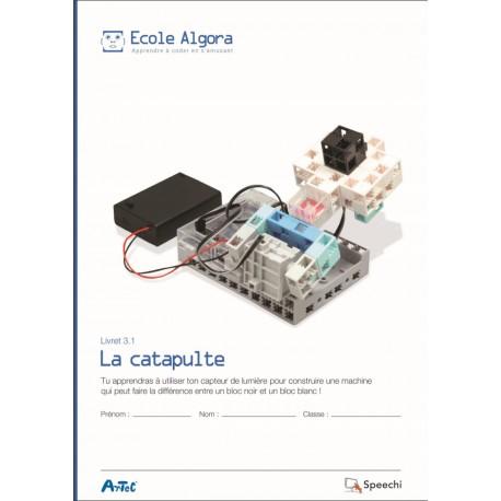"Livret Algora 3.1 ""La catapulte"" - 1 élève"