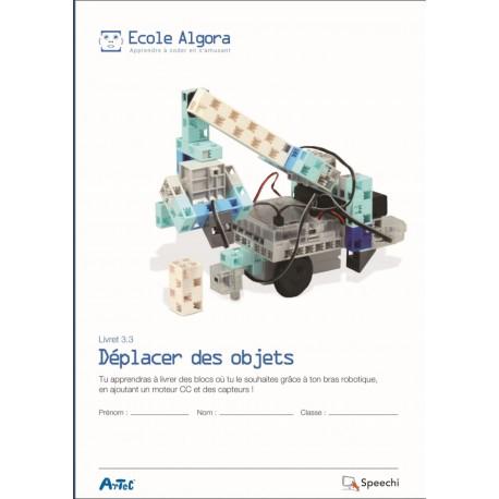 """Livret Algora 3.3 """"Déplacer des objets"""" - 1 élève"""