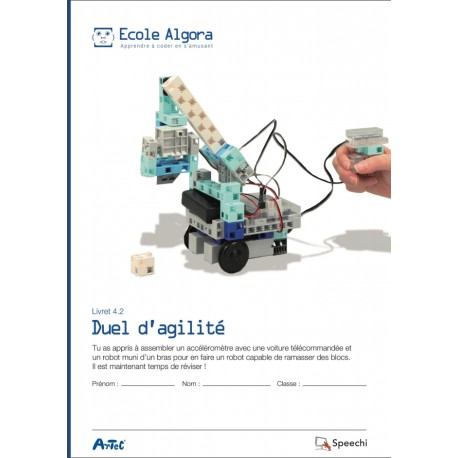 """Livret Algora 4.2 """"Duel d'agilité"""" - 1 élève"""