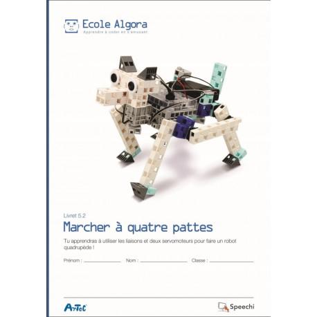 """Livret Algora 5.2 """"Marcher à quatre pattes"""" - 1 élève"""