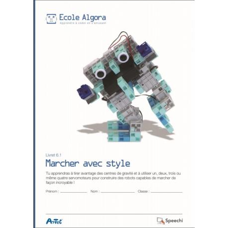 """Livret Algora 6.1 """"Marcher avec style"""" - 1 élève"""
