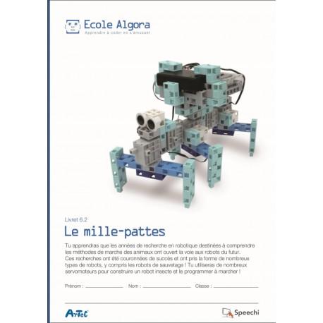 """Livret Algora 6.2 """"Le mille-pattes"""" - 1 élève"""