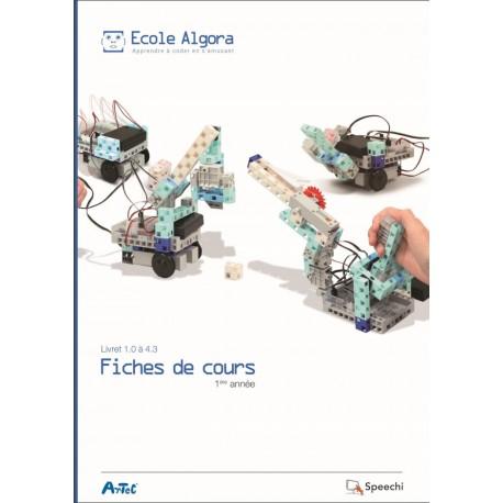 Livret Algora - Fiches de cours : année 1 - 1 professeur
