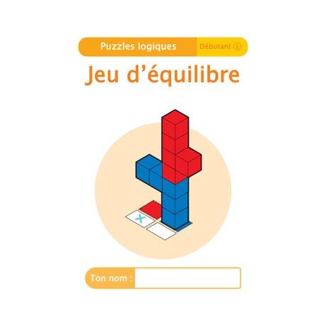 """Livret Algora (6-9 ans) - puzzle 1-1 """"Jeu d'équilibre"""" - 1 élève"""
