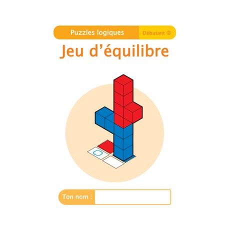 """Livret Algora (6-9 ans) - puzzle 1-2 """"Jeu d'équilibre"""" - 1 élève"""