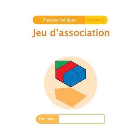 """Livret Algora (6-9 ans) - puzzle 2-1 """"Jeu d'association"""" - 1 élève"""