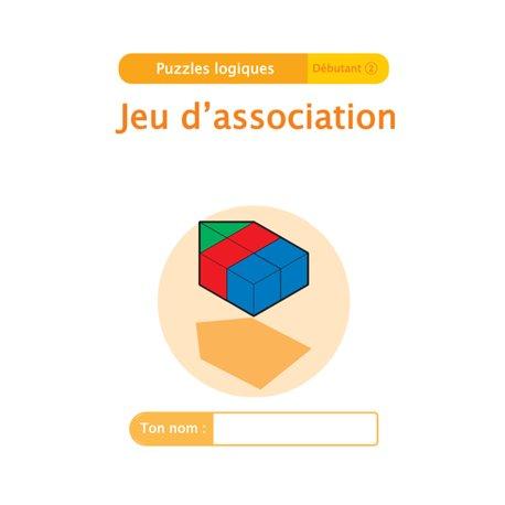 """Livret Algora (6-9 ans) - puzzle 2-2 """"Jeu d'association"""" - 1 élève"""