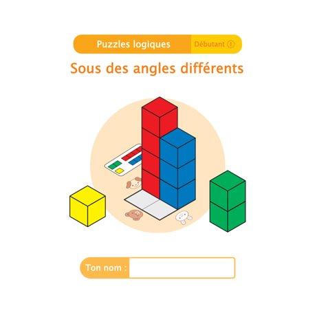 """Livret Algora (6-9 ans) - puzzle 4-1 """"Sous des angles différents"""" - 1 élève"""