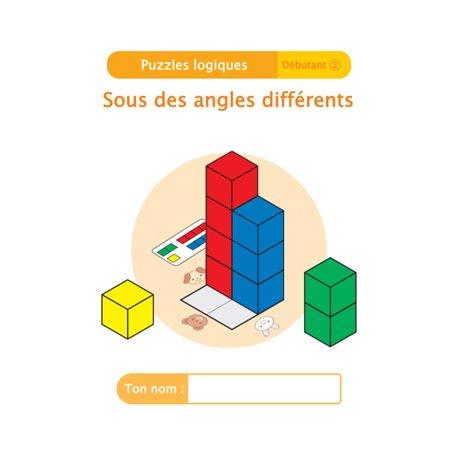 """Livret Algora (6-9 ans) - puzzle 4-2 """"Sous des angles différents"""" - 1 élève"""