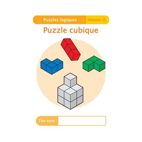 """Livret Algora (6-9 ans) - puzzle 6-2 """"Puzzle cubique"""" - 1 élève"""