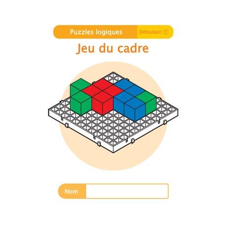"""Livret Algora (6-9 ans) - puzzle 7-1 """"Jeu du cadre"""" - 1 élève"""