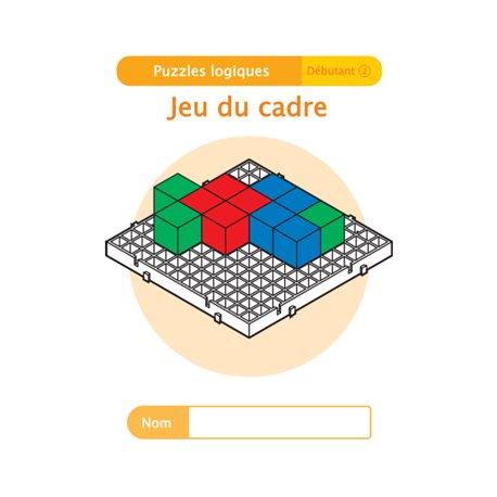"""Livret Algora (6-9 ans) - puzzle 7-2 """"Jeu du cadre"""" - 1 élève"""