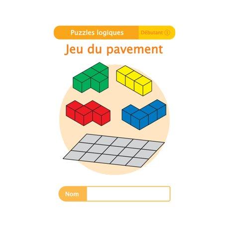 """Livret Algora (6-9 ans) - puzzle 8-1 """"Jeu du pavement"""" - 1 élève"""