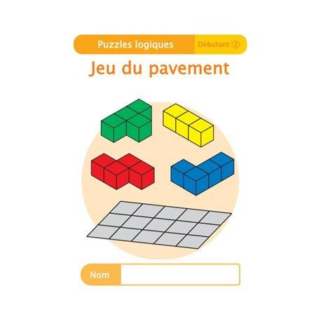 """Livret Algora (6-9 ans) - puzzle 8-2 """"Jeu du pavement"""" - 1 élève"""