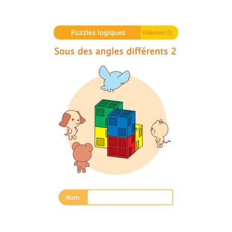 """Livret Algora (6-9 ans) - puzzle 10-1 """"Sous des angles différents (2)"""" - 1 élève"""