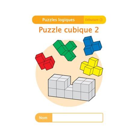 """Livret Algora (6-9 ans) - puzzle 11-2 """"Puzzle cubique (2)"""" - 1 élève"""