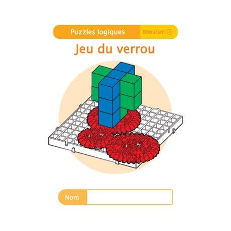 """Livret Algora (6-9 ans) - puzzle 12-1 """"Jeu du verrou"""" - 1 élève"""