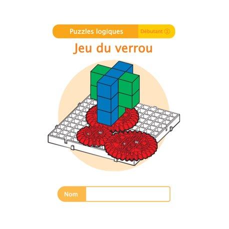 """Livret Algora (6-9 ans) - puzzle 12-2 """"Jeu du verrou"""" - 1 élève"""