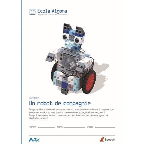 """Livret Algora 9.2 """"Un robot de compagnie"""" - 1 élève"""