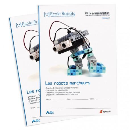 Manuel n°11 : Les robots marcheurs - Cursus Éducation nationale