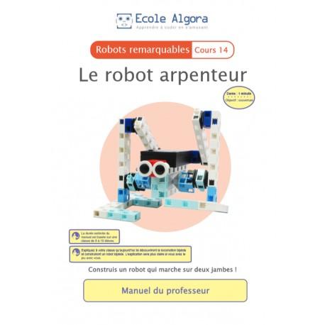 Robots remarquables - cours 15 : Le monte-charge - 1 élève