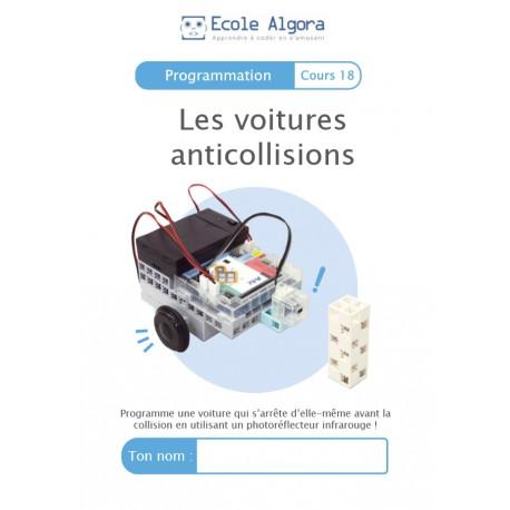 Programmation - cours 18 : Les voitures anticollisions - 1 élève