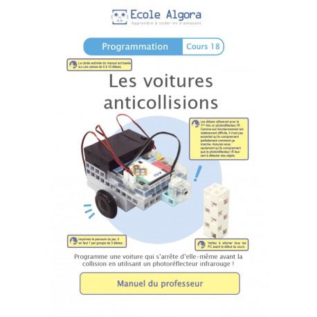 Programmation - cours 18 : Les voitures anticollisions - 1 professeur
