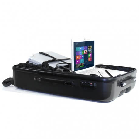 Pack SpeechiCase avec trolley et roulettes + eBeam Edge Plus USB + Optoma W304M + Netbook 15.6''