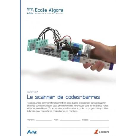 Livret Algora 10.2: Le scanner de codes-barres - 1 élève