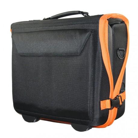 Valise mini-ITSac V1 nue (pré-câblée, légère, modulable, PC 13,3'' max, avec sangle épaule et sac à dos)