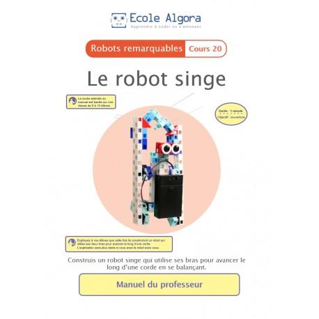 Livret professeur Algora (6-9 ans) - Robotique - cours 20 : Le robot singe