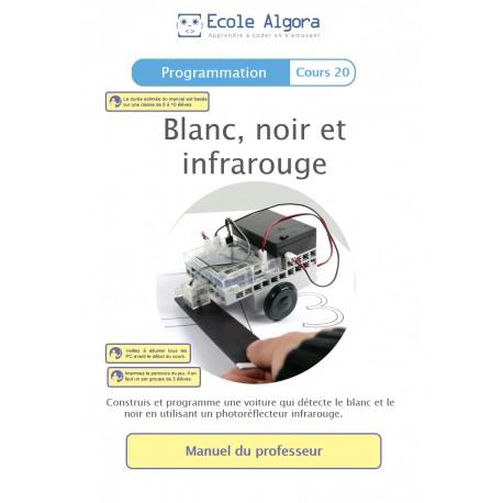 Livret professeur Algora (6-9 ans) - Programmation : Blanc, noir et infrarouge