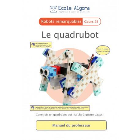 Livret professeur Algora (6-9 ans) - Robotique - cours 21 : Le quadrubot