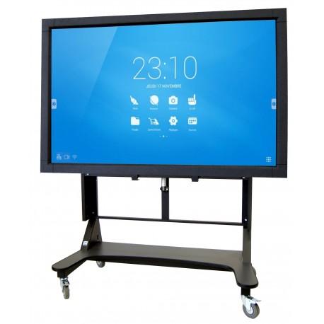 Support mobile motorisé pour écran SpeechiTouch ajustable électriquement
