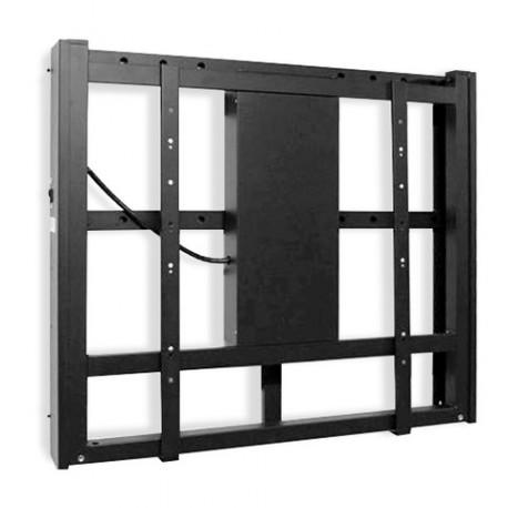 Support mural motorisé pour écran ajustable électiquement en hauteur