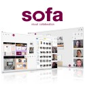 Kollaborative Software Sofa - 1 Raum - 50 Benutzer - 3 Monate
