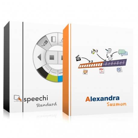 Pack Logiciel Speechi Standard + Alexandra Saumon 12 mois
