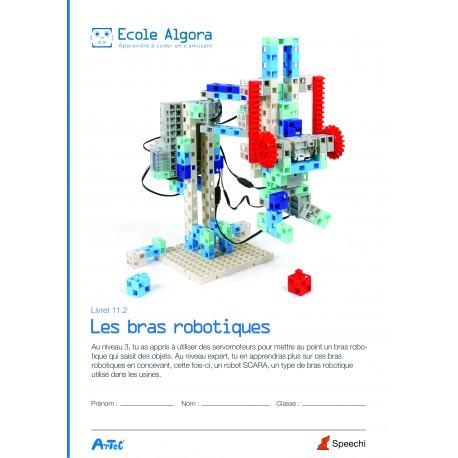 Livret élève Algora 11.2 : Les bras robotiques