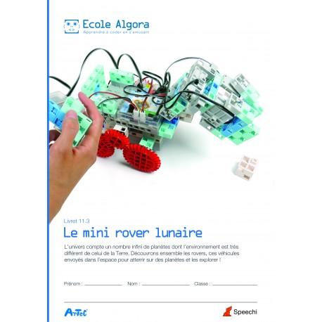 Livret élève Algora 11.3 : Le mini rover lunaire
