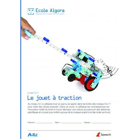 Livret élève Algora 12.1 : Le jouet à traction