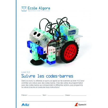 Livret élève Algora 12.2 : Suivre les codes-barres